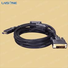 Mini dvi to dvi cable 1.4,Support 1080p