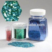 for Religious Style christmas ball colors PET glitter embossing glitter powder