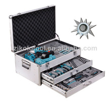 Completed 199pcs crodless screwdrivers tools set with germany kraft tools kit