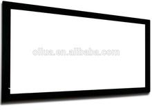 Alloy Frame Projection Screen Black Velvet Cover Fixed Frame Screen