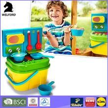 BSCI Audit Graceful Bright Colors Children Cooking Set