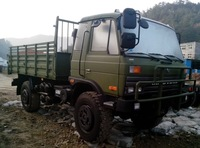 4 ton dongfeng diesel 4wd off road cargo truck
