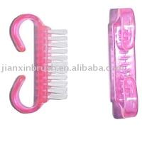 pet nail cleaning tools plastic small nail brush