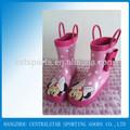 ميكي ماوس رخيصة المطر أحذية أطفال-- الجانب bowknot-- الوردي 66969