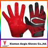 Hot sale customized american football gloves/custom football gloves