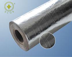 Double Side Coated Aluminum Foil PE Woven Fabric
