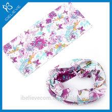 digital printed polyester neck scarf