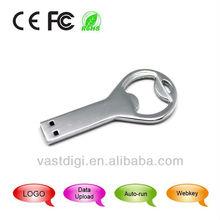 Practical and functionable bottle opener shape USB2.0 3.0 flash drive / funny usb digital gift