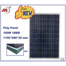 China best price power 100w solar panel