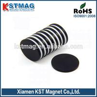 Daily neodymium magnet 9x2mm with black epoxy Coating