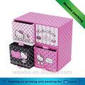 ハローキティ4引き出しの宝石用紙の保管ボックス