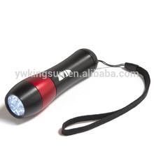 anodized Aluminum Mini Flashlight with 9 led flashlight( Factory directly!!!)