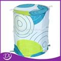 tela de la impresión tela plegable cesta de la ropa