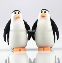 3D penguin shape animal rubber puzzle magic children eraser