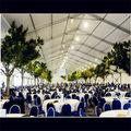 Luxus und billigeiso& tuvbig pvc-halle zelt mit Spannweite, hochzeit, festzelt zelt zum verkauf