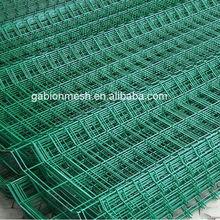 Green plastic garden fence/plastic fence panels