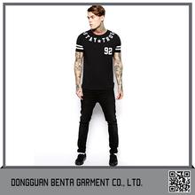 China Wholesale Custom T-Shirt Vertical Stripe