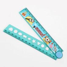 INTERWELL LA129 Foldable Ruler 30 cm Size, Cheap Plastic Folding Ruler