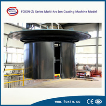 FOXIN-ZJ Series PVD Surface Treatment coating machine on stainless steel for black film