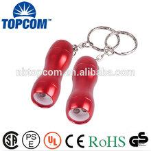 Mini LED Torch Fashionable Keychains