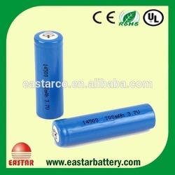 Supply ICR14500 Li-ion Rechargeable Battery AA 3.7v 700mAh