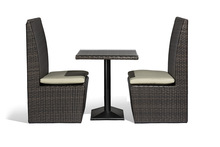 outdoor furniture restaurant&cafe dining table and chairs