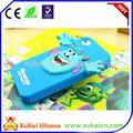 Personalizado de silicona caso de teléfono móvil, de cuero caja del teléfono, flip cubierta hecha en china