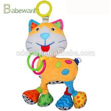 Amor bebê musical animais gato educação brinquedo de pelúcia, Brinquedo vivo bebê
