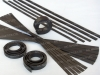 Plain Brown Extrusion Flexible Magnet Strips