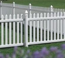 Cheap PVC Fence Plastic Garden Fence Panels