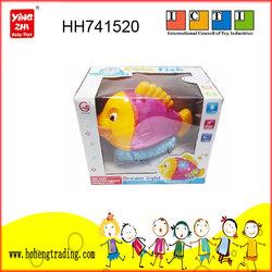 robotic fish toy,music fish,flashing fish