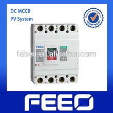Solar Application 1000V Moulded Case Circuit 4p DC MCCB