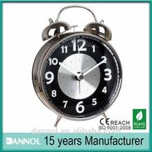 8 inch round digital quartz decorative antique metal clock clock alarm