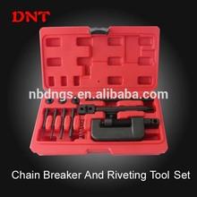 hot sale Chain Breaker Riveting Tools Car Auto Repair Tool Set Bike Motorcycle