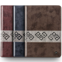 Retro PU Leather Flip Case for New iPad 5 air Sleep Wake Function stand cover