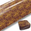 S0616-1 chocolate folha de transferência