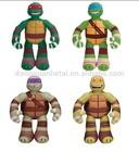 Teenage Mutant Ninja Turtles Pre-Cool Half Shell Heroes Ninja Practice Pal Plush Toy:Donatello/Michelangelo/Leonardo/Raphael