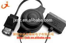 MICRO SATA 16p 1.8 SSD to Power Esata winding line type telescopic line