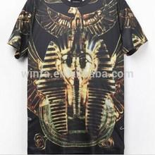 2014 Latest Popular European and American High-Rank Modern Type 3D Gods of Egypt 3d T-shirts