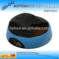4 harina de madera gato con los alimentos para mascotas recipiente lcd alimentador automático de mascotas