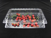 disposable large plastic fruit container