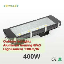 400w 2014 high power super bright led flood light with bridgelux45mil