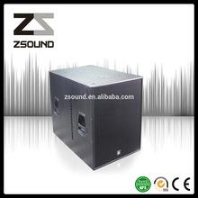 powered horn active outdoor Line Array 8 ohm speakers 4800W PEAK