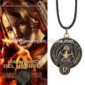Hunger Games prendere fuoco arrondissement 12 collana pendente Hunger Games catena chiave