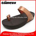 sandálias de plástico grosso sexy nude chinelo cinta couro pu brilhante caprichoso chinera