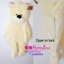Unstuffed teddy bear skins Plush Material skins empty shell teddy bear plush toys coat