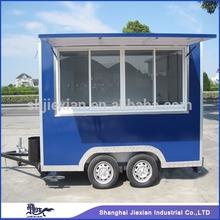 2015 Jiexian JX-FS300 Newstyle!!!Fibreglass Stainless steel Food Van Food cart