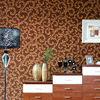 Italian flower vinyl wallpaper for household decoration