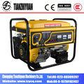 China 6.5kw generador de la gasolina con alta calidad