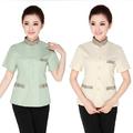 ladys hotle diseño uniforme para la limpieza